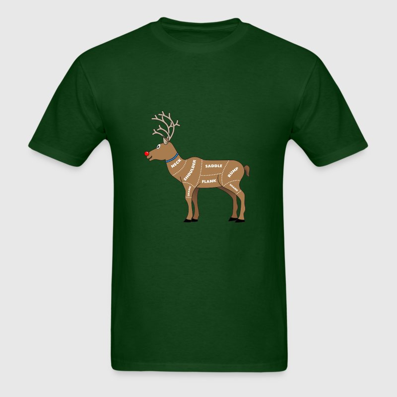 Reindeer Meat For Christmas T-Shirts - Men's T-Shirt