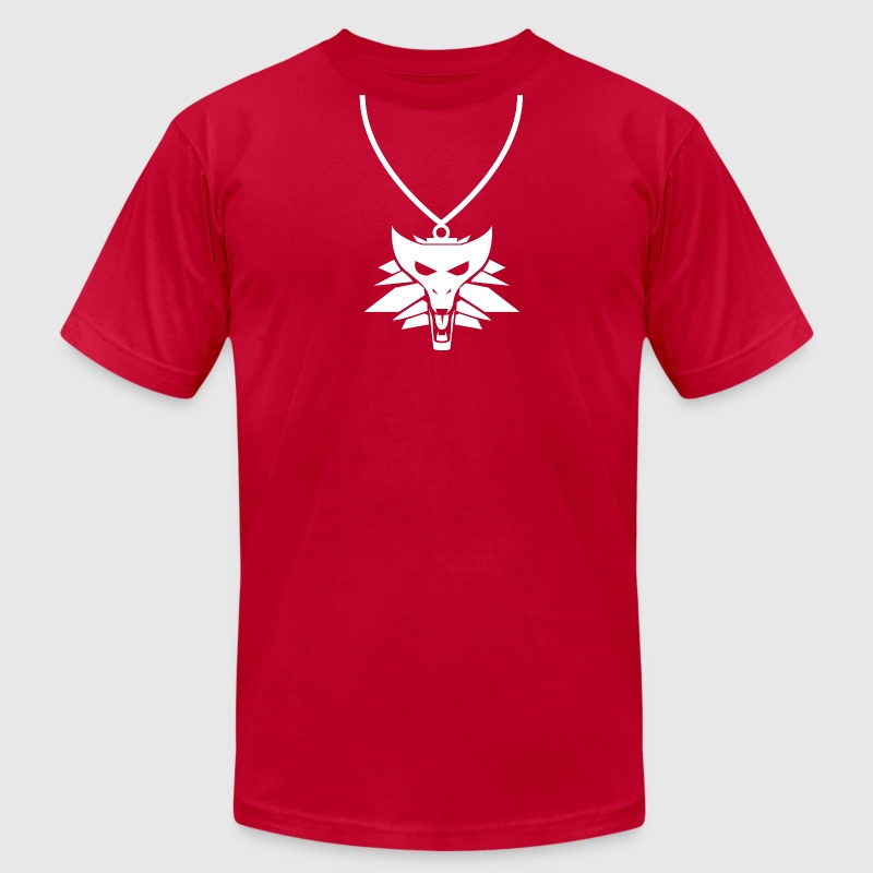 Witcher T-Shirts - Men's T-Shirt by American Apparel