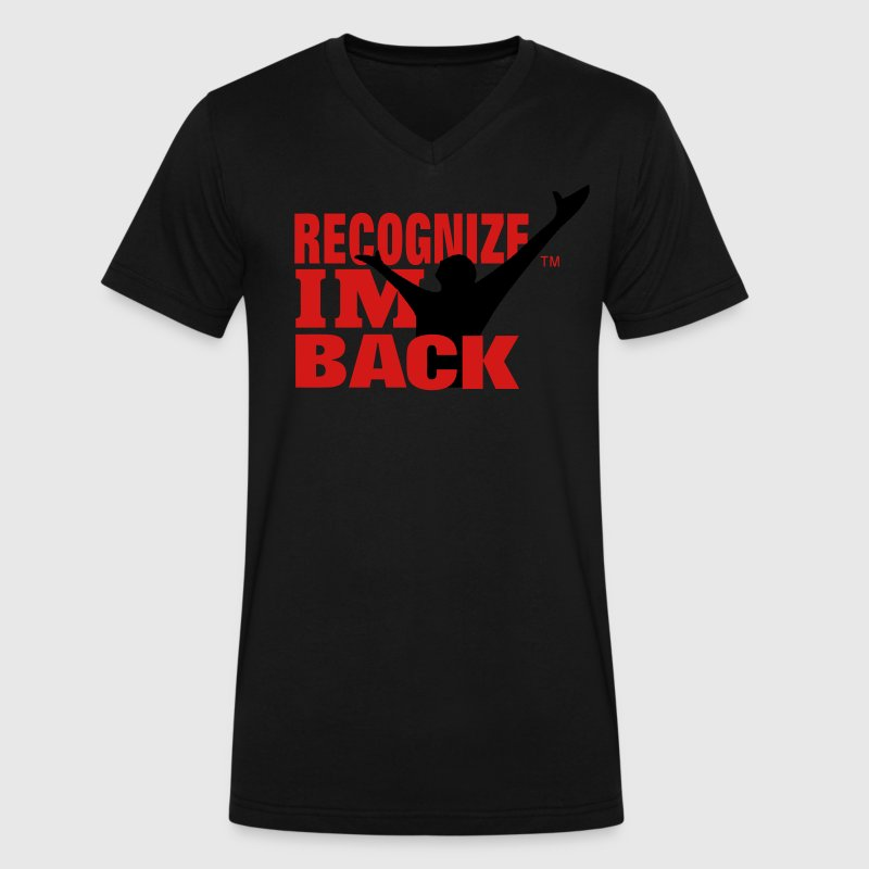 RECOGNIZE IM BACK T-Shirts - Men's V-Neck T-Shirt by Canvas
