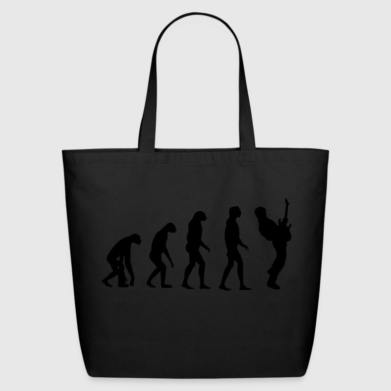 Guitar Player Evolution Bags  - Eco-Friendly Cotton Tote