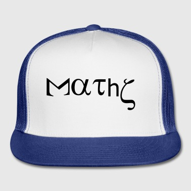 maths_with_greek_letters Accessories - Trucker Cap