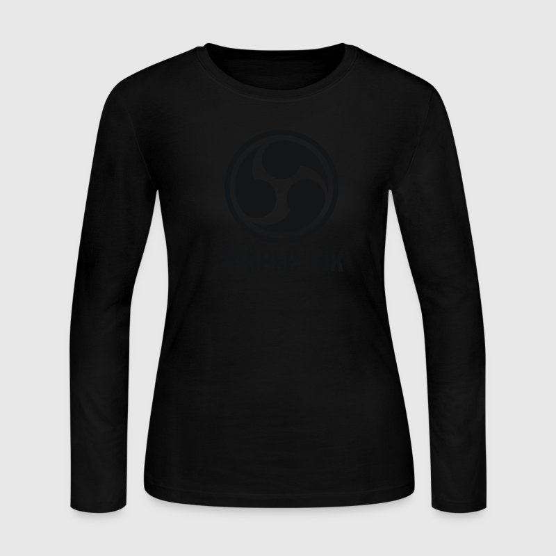 666 Triple Six Font 2.1c Long Sleeve Shirts - Women's Long Sleeve Jersey T-Shirt