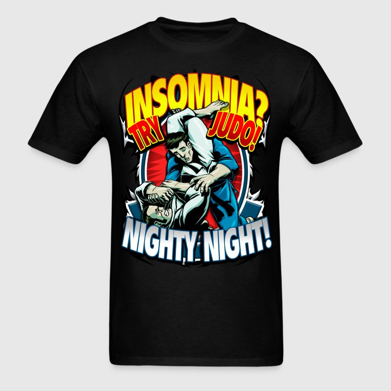 Insomnia Judo Design T-Shirts - Men's T-Shirt