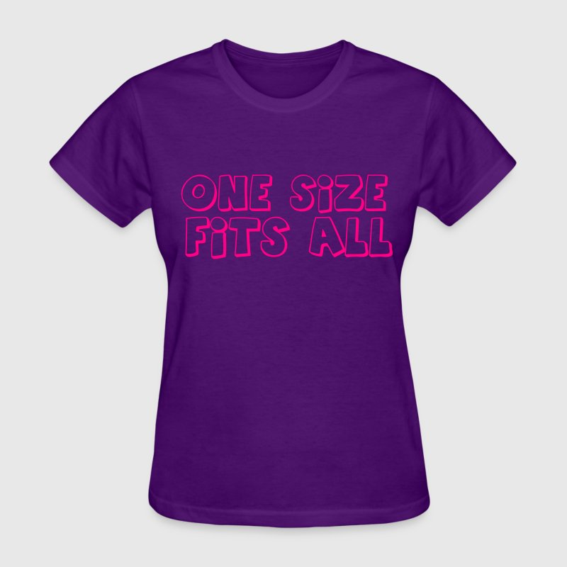 one size fits all Women's T-Shirts - Women's T-Shirt