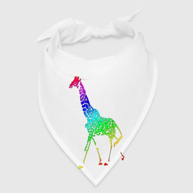 Giraffe Family (ADD CUSTOM TEXT) - Bandana