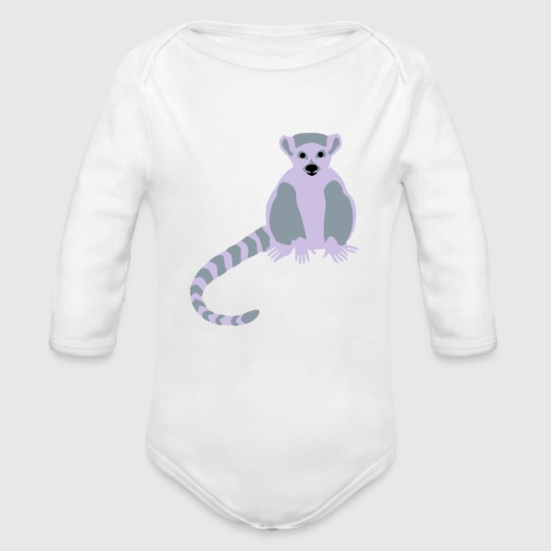Lemur Baby & Toddler Shirts - Long Sleeve Baby Bodysuit
