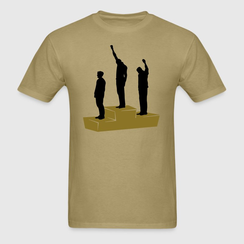 Black Power Mexico 1968 - Men's T-Shirt