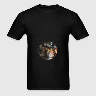 Barber Shop With Sun Shin Bags & backpacks - Men's T-Shirt