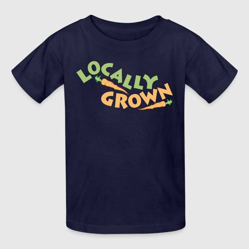 Locally Grown Kids' Shirts - Kids' T-Shirt
