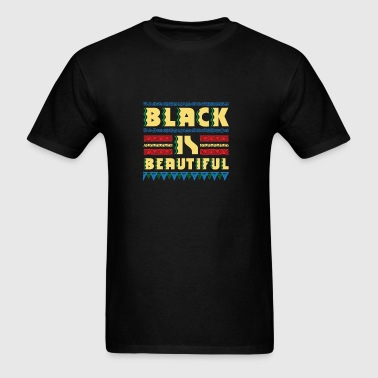 Black is Beautiful - natural african gift design Sportswear - Men's T-Shirt