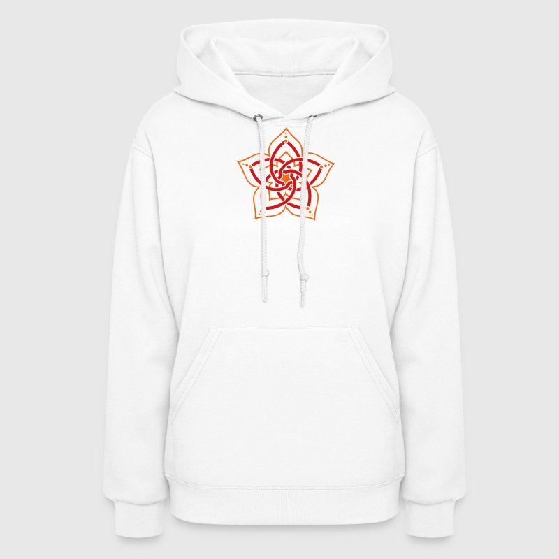 Venus Flower, 2c, Symbol Perfection & Balance / Hoodies - Women's Hoodie