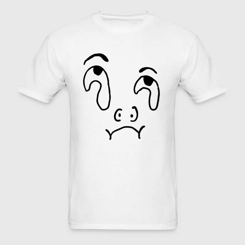 stop crying T-Shirts - Men's T-Shirt