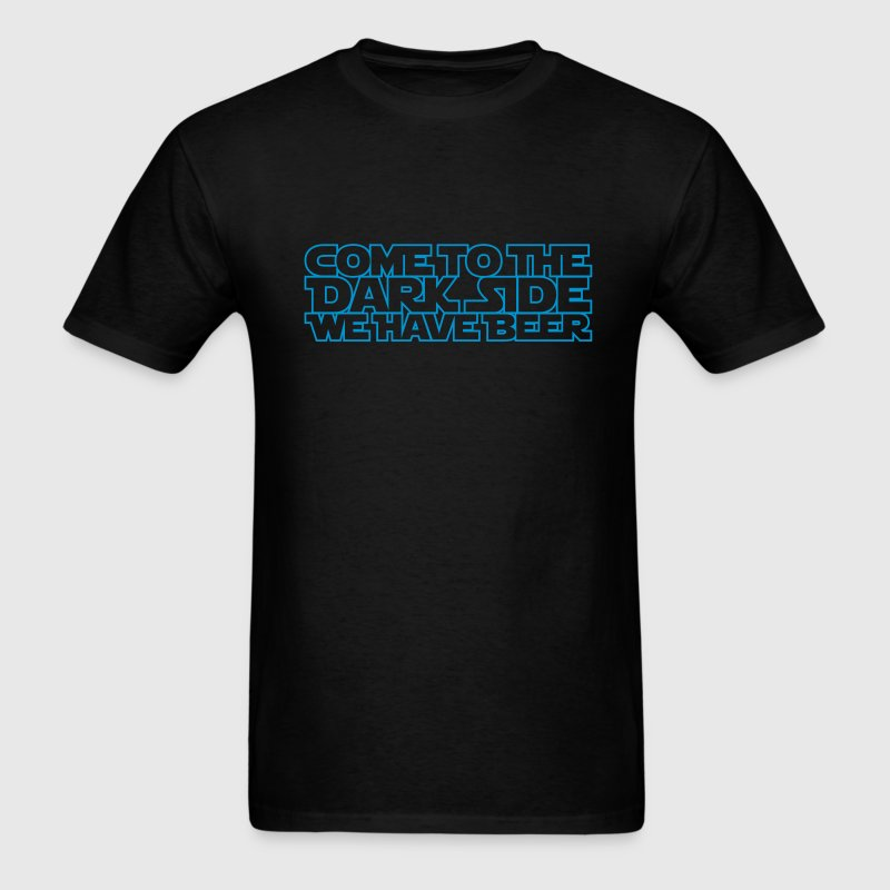 Come to the dark side we have beer 1.1c outline T-Shirts - Men's T-Shirt