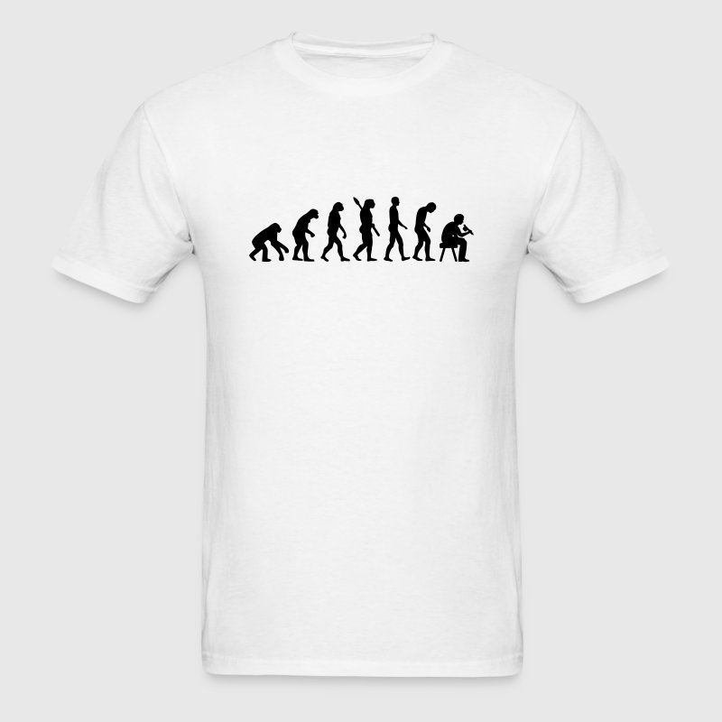 Tattoo artist evolution T-Shirts - Men's T-Shirt
