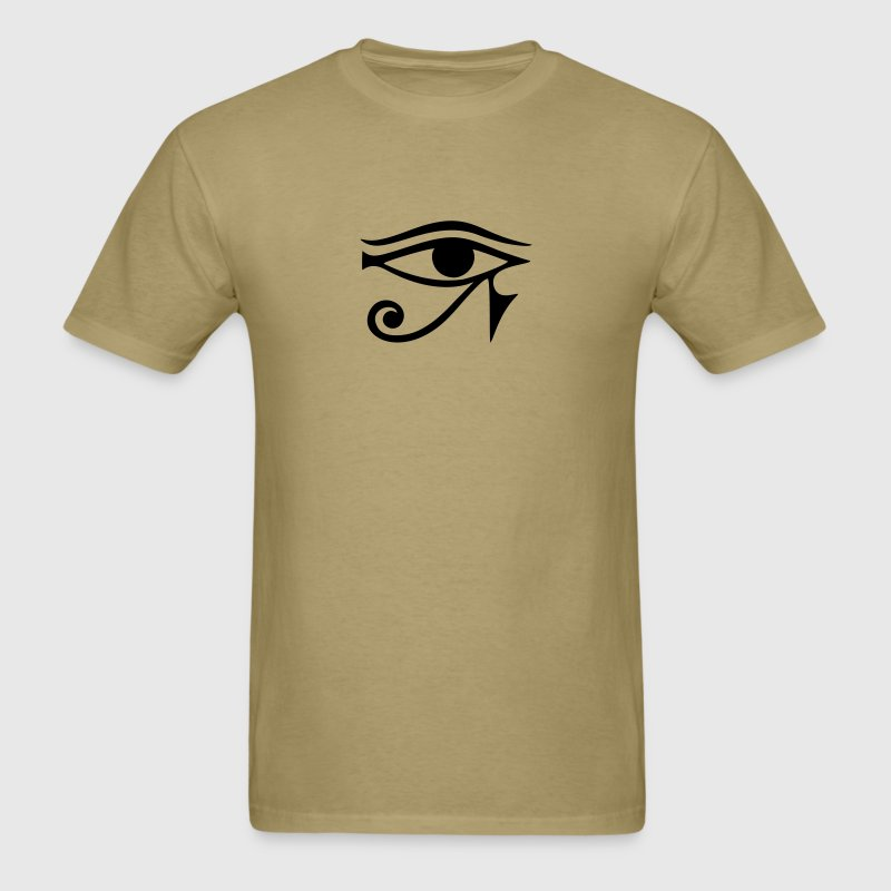 EYE of Horus/ Ra, reverse moon eye of Thoth/ T-Shirts - Men's T-Shirt