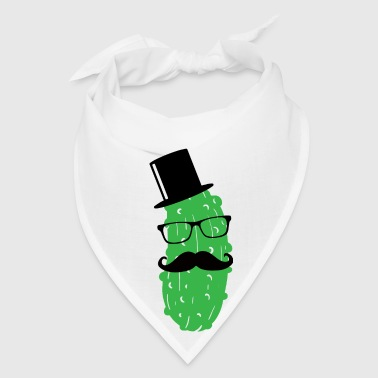 Mr. Cucumber Dilly dill Sir Pickles Sour Gentleman Aprons - Bandana