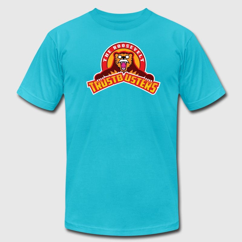 The Roosevelt Trustbusters T-Shirts - Men's T-Shirt by American Apparel