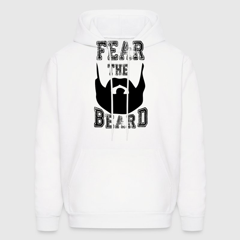 fear the beard Hoodies - Men's Hoodie