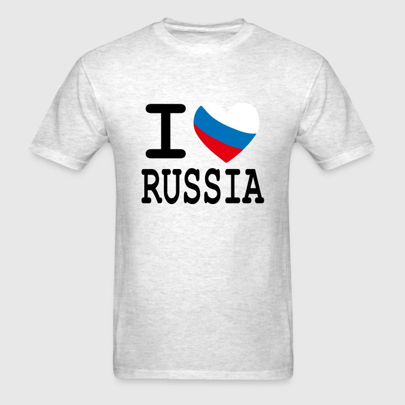 I Heart Russia T-Shirts - Men's T-Shirt
