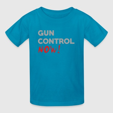 Gun Control Now T-Shirts - Kids' T-Shirt