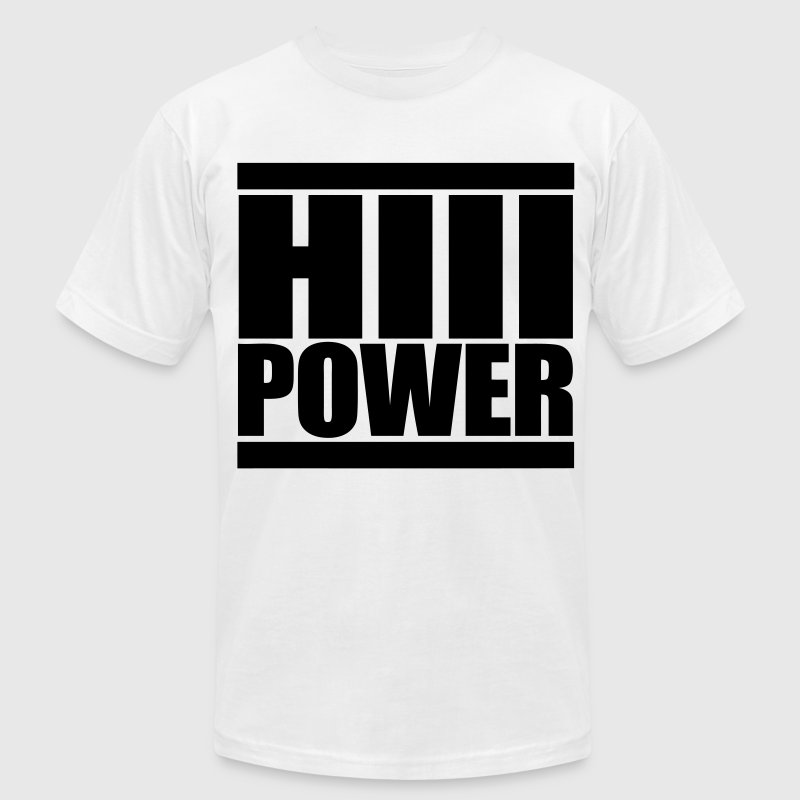 HiiiPOWER T-Shirts - stayflyclothing.com - Men's T-Shirt by American Apparel