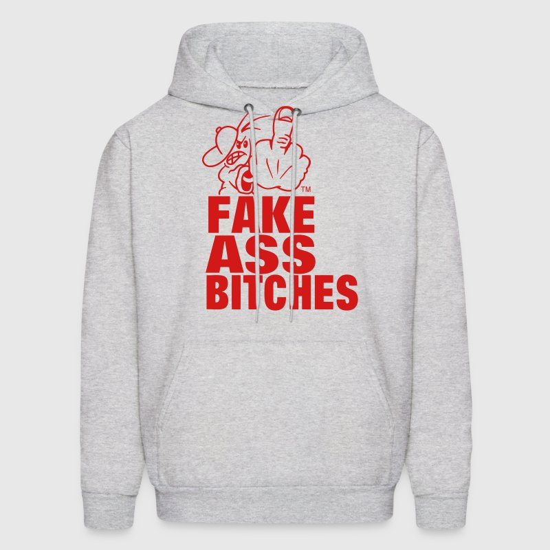 FUCK YOU FAKE ASS BITCHES Hoodies - Men's Hoodie
