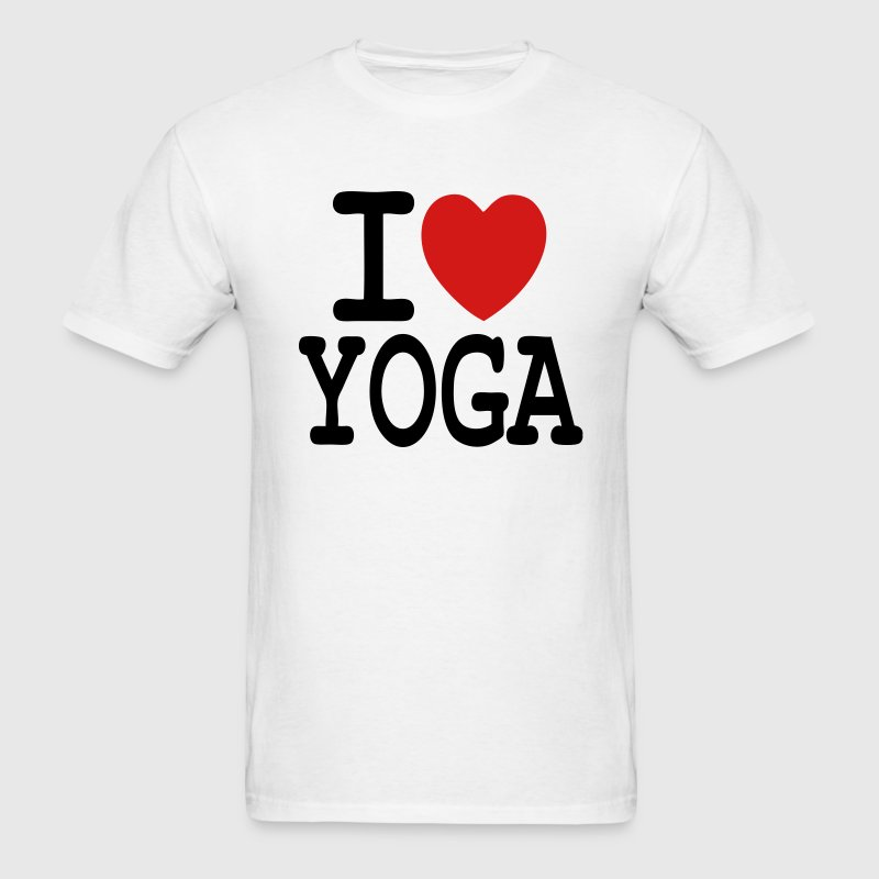 T-shirt i love yoga - Men's T-Shirt