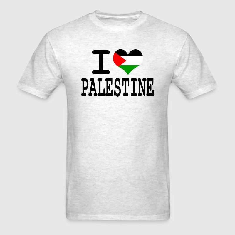 I love Palestine T-Shirts - Men's T-Shirt