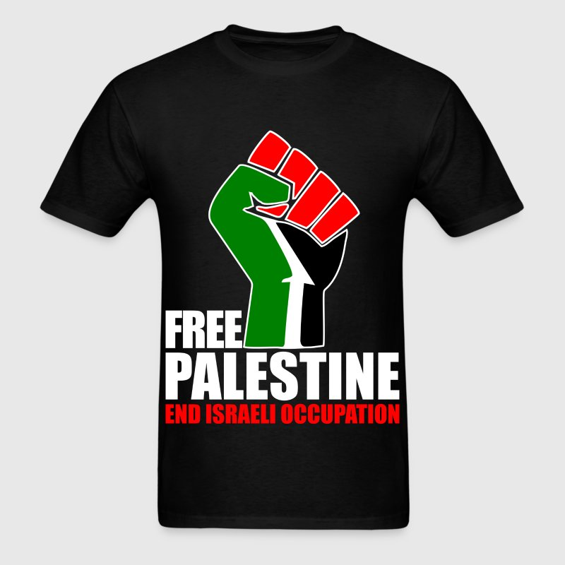 Free Palestine end Israeli Occupation T-Shirts - Men's T-Shirt
