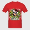 Merry Christmas Doberman T-Shirts - Men's T-Shirt