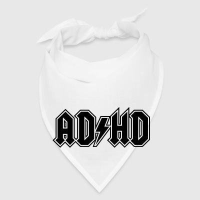 ADHD rock n' roll logo attention deficit disorder Other - Bandana