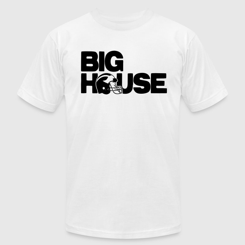 The Big House T-Shirts - Men's T-Shirt by American Apparel