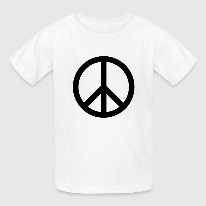 Peace Sign Kids' Shirts - Kids' T-Shirt