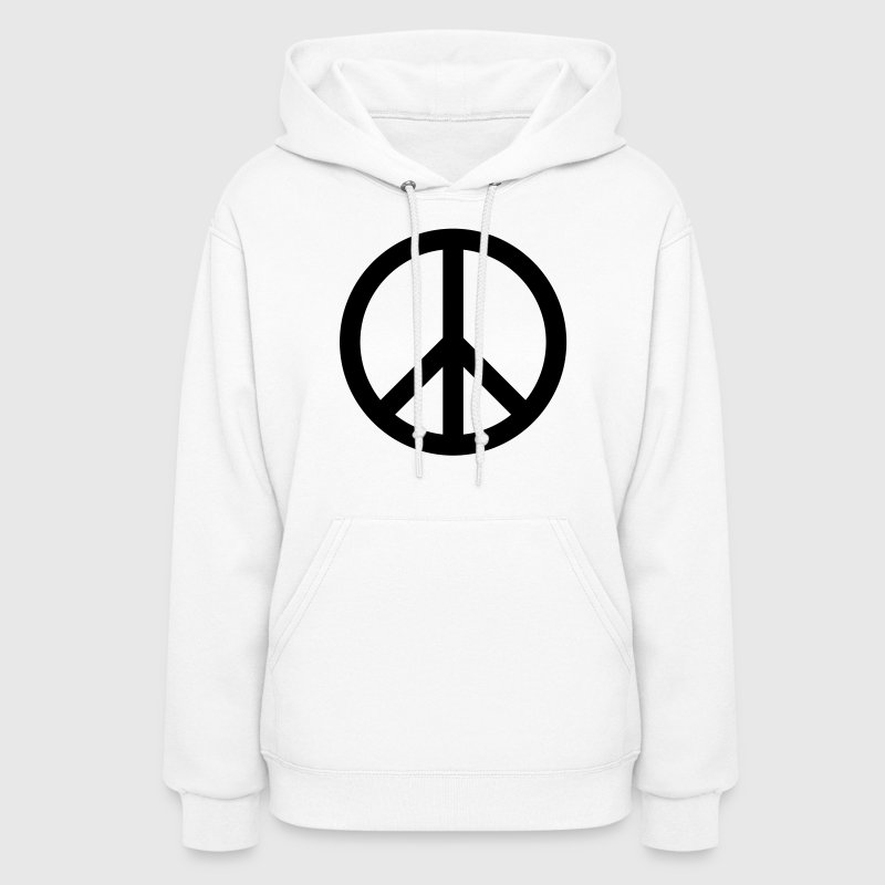 Peace Sign Hoodies - Women's Hoodie