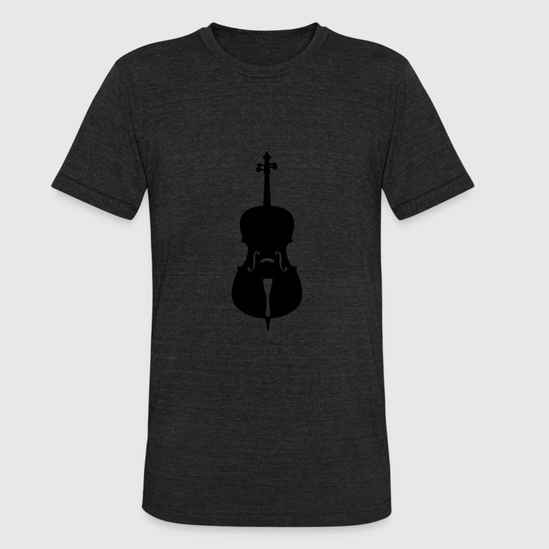 cello T-Shirts - Unisex Tri-Blend T-Shirt by American Apparel