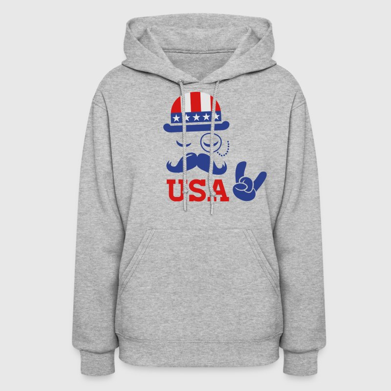 Like a USA American holiday patriot boss sports Hoodies - Women's Hoodie