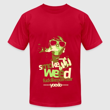 Smoke Weed - Men's T-Shirt by American Apparel