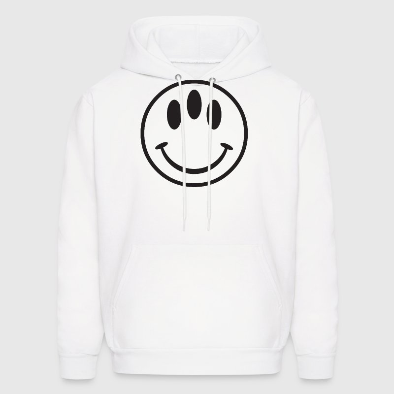 3 Eyed Smiley Face Hoodies - Men's Hoodie