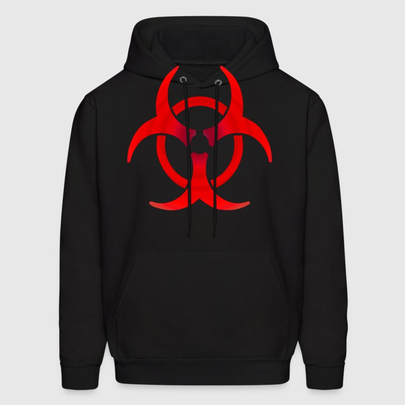 Biohazard RED Hoodies - Men's Hoodie