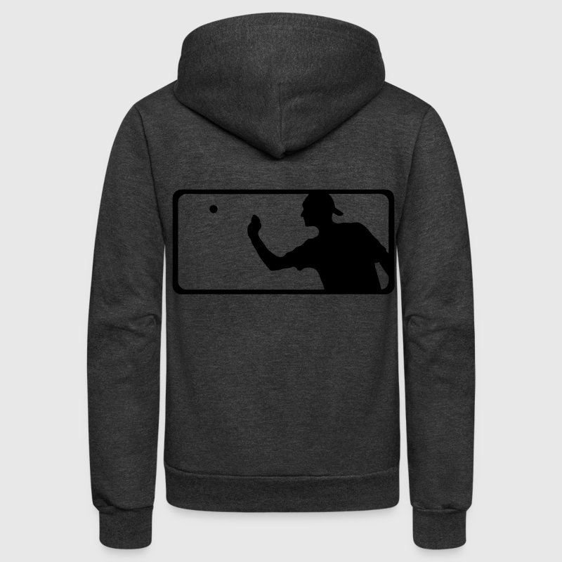 Major League Beer Pong Zip Hoodies/Jackets - Unisex Fleece Zip Hoodie by American Apparel
