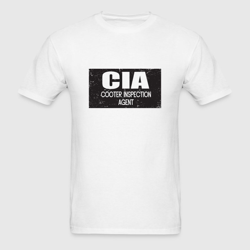 CIA: Cooter Inspection Agent T-Shirts - Men's T-Shirt