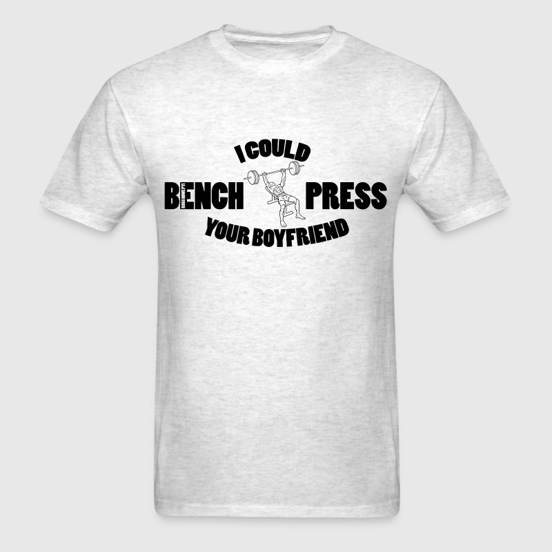 Bench Press T-Shirts - Men's T-Shirt
