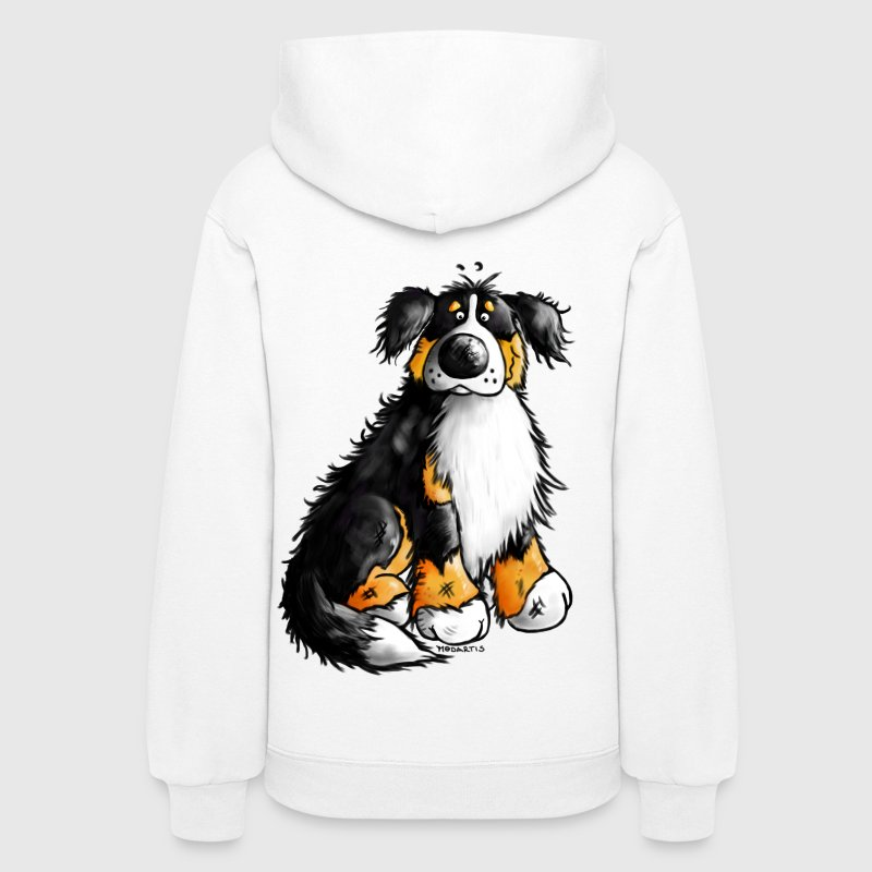 Bernie - Bernese Mountain Dog Sweatshirt - Women's Hoodie
