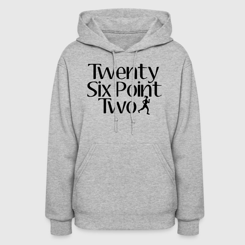 Twenty Six Point Two Marathon Hoodies - Women's Hoodie