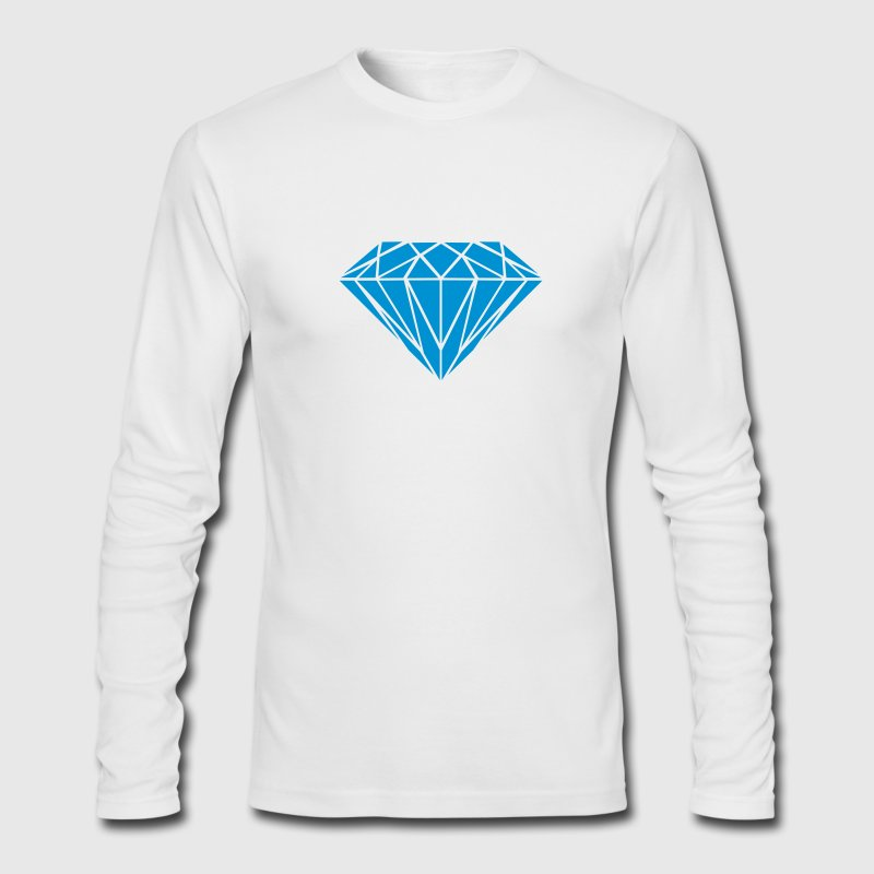 Jewel Long Sleeve Shirts - Men's Long Sleeve T-Shirt by Next Level