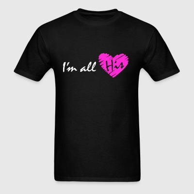 I'm all his (couple - girl) Hoodies - Men's T-Shirt