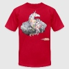 drunk unicorn T-Shirts - Men's T-Shirt by American Apparel