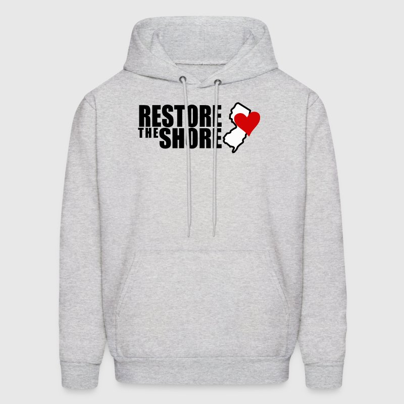 RESTORE THE SHORE Hoodies - Men's Hoodie