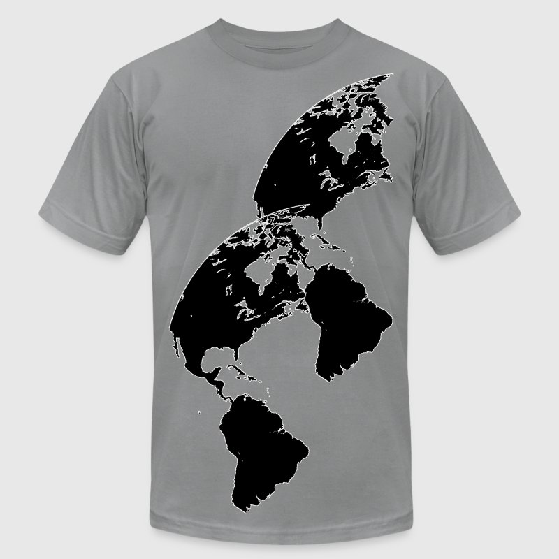 The Western Hemisphere T-Shirts - Men's T-Shirt by American Apparel