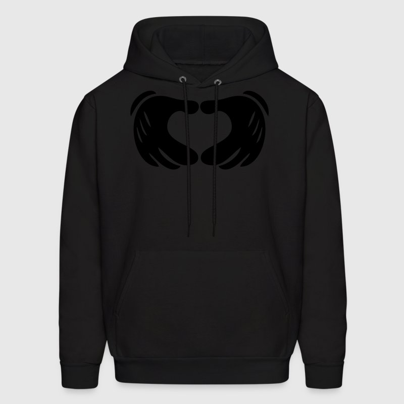 Mickey Hands - Heart Hoodies - Men's Hoodie